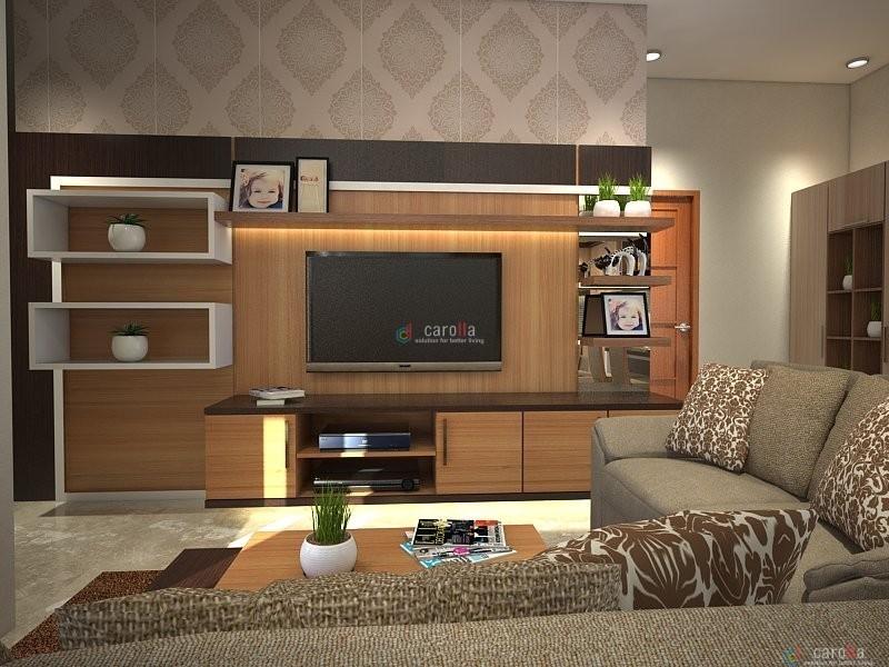 Interior Design Ruang Keluarga